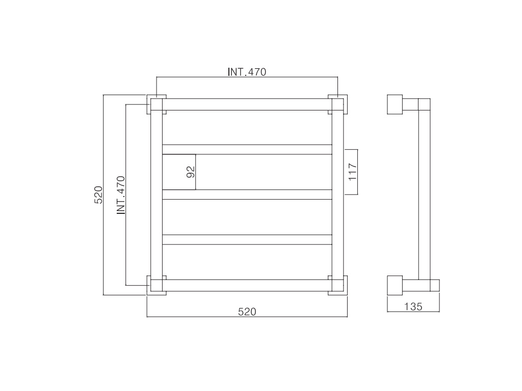 Quadri 710/3 размеры