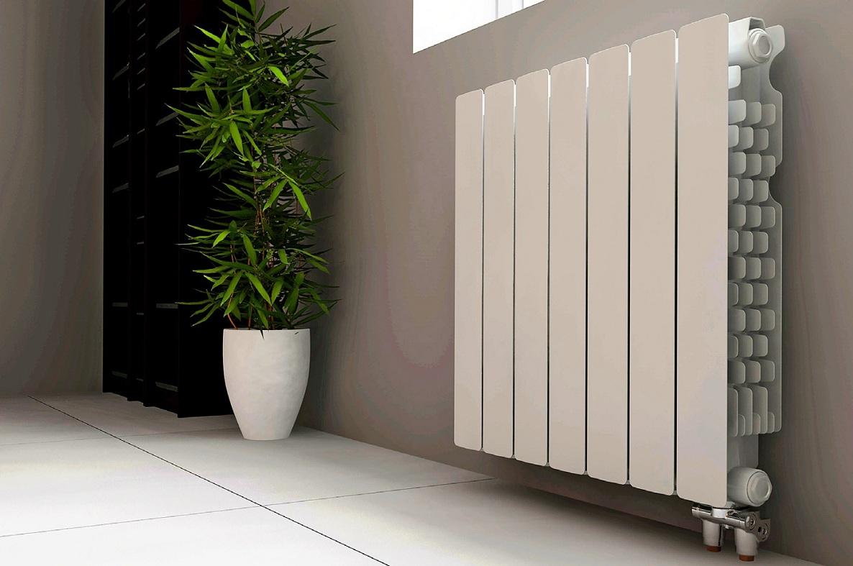Биметаллический радиатор.
